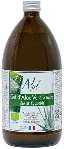 Pur Aloé–Aloe vera orgánico puro. Gel para beber 1000ml en oferta