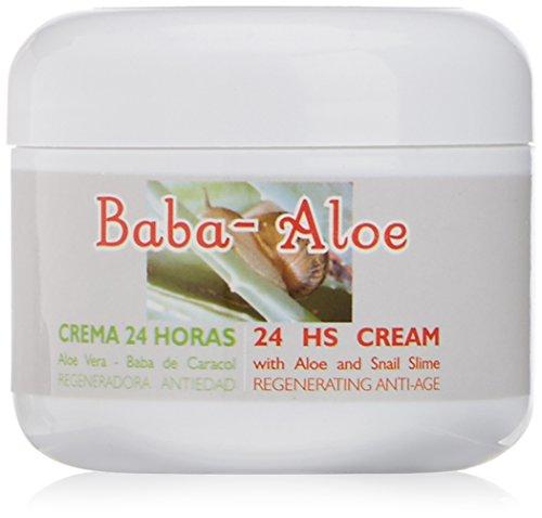 Babaloe 100010 – Crema 24 horas antiedad con baba de caracol y aloe vera