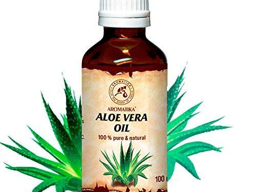 Aceite De Aloe Vera 100% puro y natural